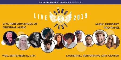 Destination Sistrunk presents: SongFest 2019