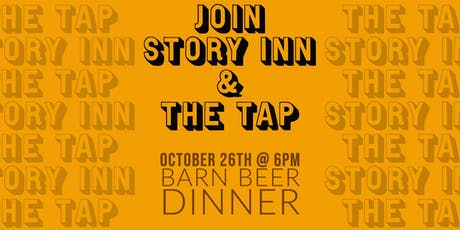 The Tap & Story Inn Barn Dinner tickets