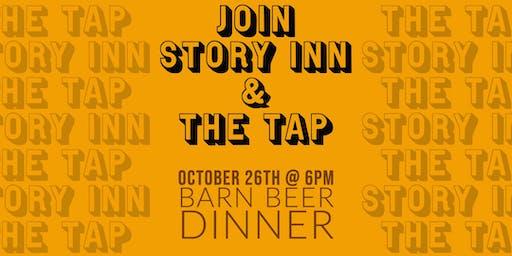 The Tap & Story Inn Barn Dinner