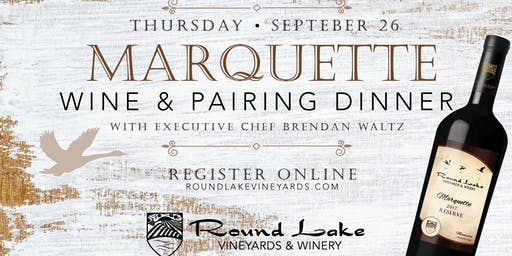 Marquette Wine Pairing Dinner
