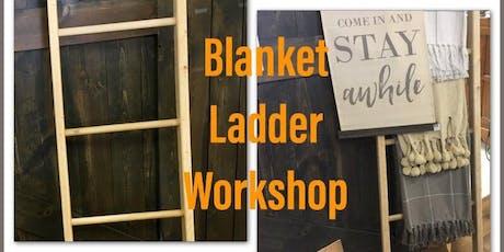 Blanket Ladder Workshop tickets
