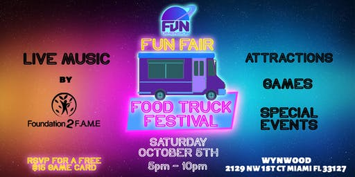 FunDimension Fun Fair - Food Truck Festival!
