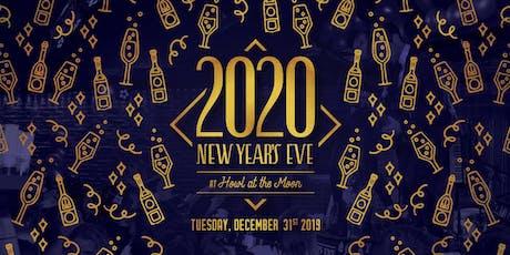 New Year's Eve 2020 at Howl at the Moon Kansas City! tickets