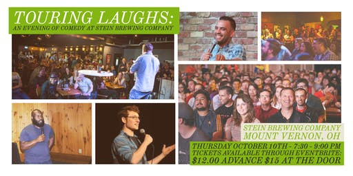 Touring Laughs:  An evening of comedy at Stein Brewing Company