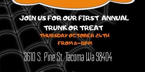 TRUNK OR TREAT HALLOWEEN BASH