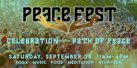 Peace Fest Vendor Application tickets