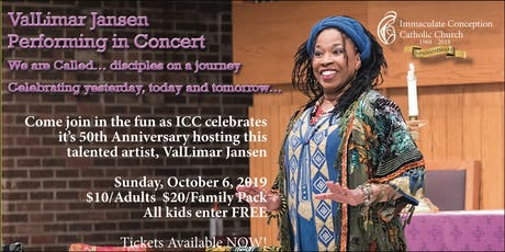 ICC 50th Anniversary presents ValLimar Jansen tickets