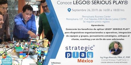 Ven y Conoce LEGO® SERIOUS PLAY® boletos
