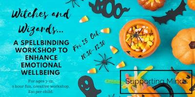 A spellbinding kids workshop to enhance emotional wellbeing.