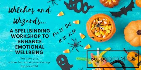 A spellbinding kids workshop to enhance emotional wellbeing. tickets