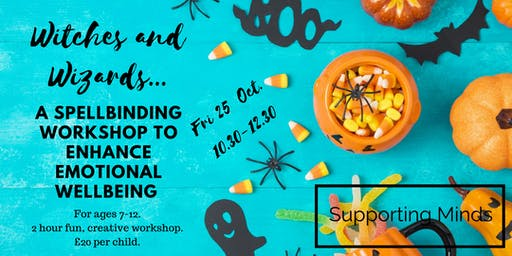 A spellbinding kids workshop to enhance emotional wellbeing.