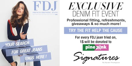 FREE Exclusive Denim Fit Event tickets