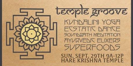 Temple Groove - New Moon Beginning tickets
