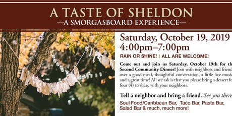 Breaking Bread: Taste of Sheldon Lane tickets