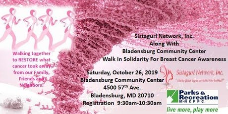 Walk In Solidarity For Breast Cancer Awareness tickets