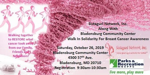Walk In Solidarity For Breast Cancer Awareness