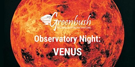 Observatory Night: Venus tickets