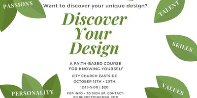 Discover Your Design: A Faith-Based Course for Knowing Yourself