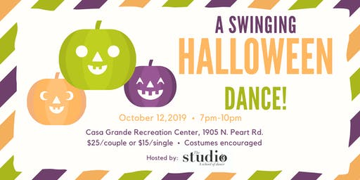 A Swinging Halloween Dance!