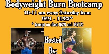 Bodyweight Burn Bootcamp tickets