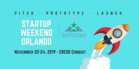 Techstars Startup Weekend Orlando 2019 tickets