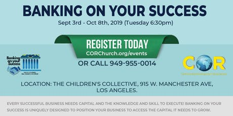 CORCDC's Banking on Your Success Class II - Los Angeles-3 tickets