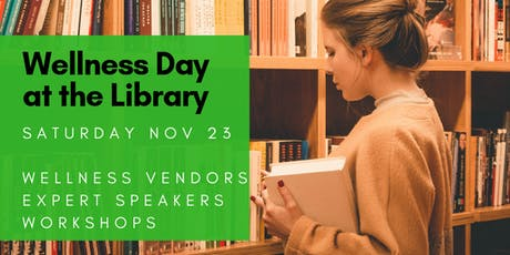 Wellness Day at Markham Public Library tickets