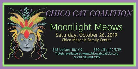 Chico Cat Coalition Moonlight Meows Annual Fundraiser & Silent Auction tickets