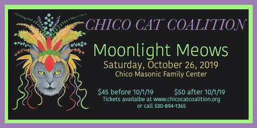 Chico Cat Coalition Moonlight Meows Annual Fundraiser & Silent Auction