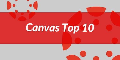 Canvas Top 10: Grades