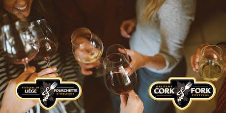 2019 Orléans Cork & Fork Festival  /  Festival Liège et Fourchette d'Orléans 2019 tickets