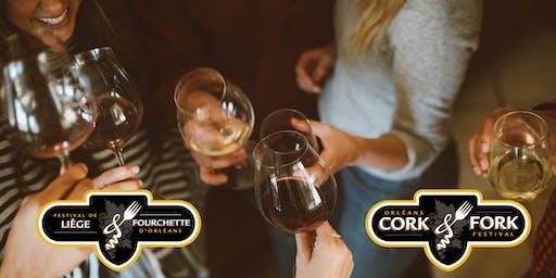 2019 Orléans Cork & Fork Festival  /  Festival Liège et Fourchette d'Orléans 2019