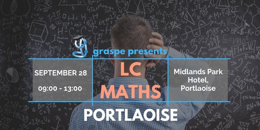 Portlaoise Honours Level Leaving Cert Maths Crash Course