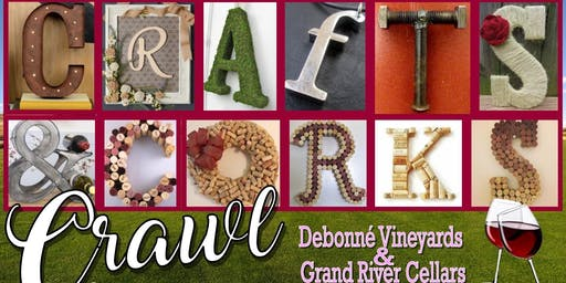 Crafts & Corks Crawl