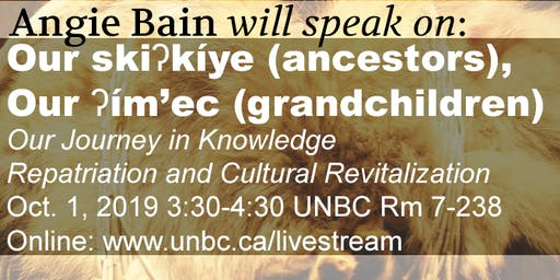 Northern BC Archives presents: Angie Bain