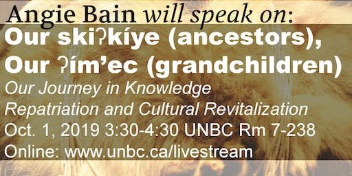 Archival Connections Speakers Series presents: Angie Bain