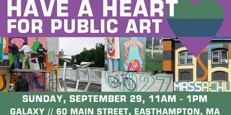 Have a Heart for Public Art tickets