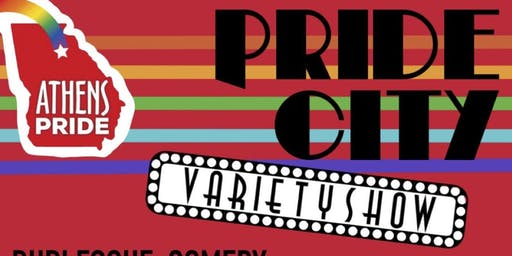 Pride City Variety Show Featuring Neal from Queer Eye
