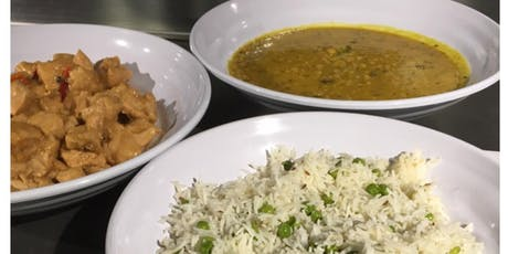 Indian Cooking Class:  Peas Pilaf, Chicken Korma and Chana Dal tickets