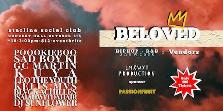 Beloved - Hip Hop/ R&B Showcase x Pop Up tickets