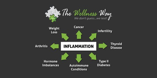 Inflammation Talk: Brain fog, Pain, Skin Issues all related to Gut Health