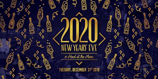 New Year's Eve 2020 at Howl at the Moon Pittsburgh!