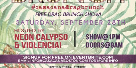 Drag Brunch At Casa Caña! tickets