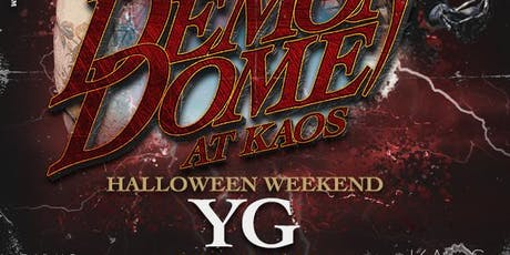 YG LIVE - KAOS Vegas Nightclub @ Palms - Guest List - 11/2 tickets