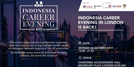 Indonesian Career Evening (Students Admission Ticket) tickets
