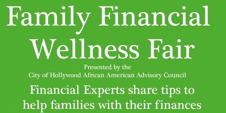 Family Financial Wellness Fair tickets