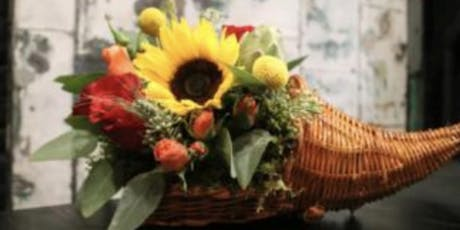Thanksgiving Arrangements at A Small Creation with Alice's Table tickets