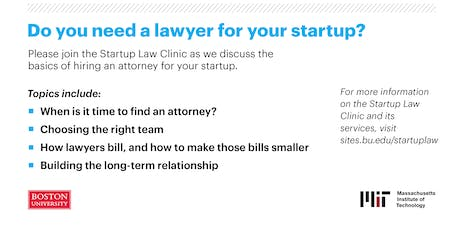 How to Hire a Lawyer tickets