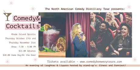 Comedy & Cocktails at Rhode Island Spirits tickets