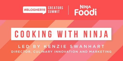 Private Cooking Demo with Ninja Kitchen & SHE Media